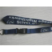 polyester embroidered woven lanyards,economic woven jacquard neck lanyard factory in China