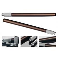 Buy cheap Reusable Manual Eyebrow Pens Brown Permanent Makeup Tools With Cross Open from wholesalers