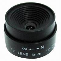 Quality 6mm F2.0 Fixed Iris Lens, Monofocal Lens with Fixed Iris for sale