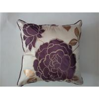 China pillow cover embroidery design fiber fill pillow polyester spandex pillow case plain canvas pillow covers on sale