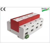 Quality CE Certified 3 Phase Surge Suppressor ,  30kA Mov Ac Surge Suppressor With Din Rail Mounted for sale
