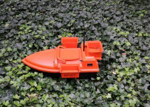 Quality DEVC-202 Orange RC Boat GPS autopilot style rc model , Sea fishing bait boat for sale