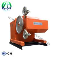 Buy cheap Marble Wire Saw Cutting Machine Automatic Block Cutting Machine from wholesalers