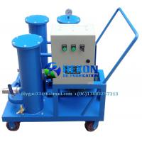 Quality 3 Stage Filtration Mobile Type Portable Oil Purifier with Oiling Function for sale
