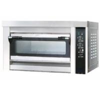China Electric Single Deck Oven For Baking , One Tray Stainless Steel Oven for Bread Cake on sale
