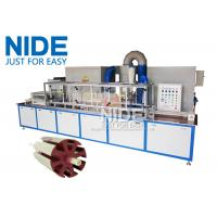 Quality Servo Epoxy Powder Coating Machine With The Touch Screen For Armature Rotor for sale