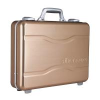 Quality Alloy Aluminum Notebook Carrying Case Golden Color for sale