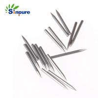 Quality Sinpure Custom stainless steel 304 Solid pencil point needle for knitting needle for sale