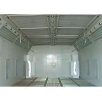 LED Light 6.9M Waterborne Spray Booth For Cars , Water Based Paint Booth