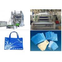 Quality 1.6 m / 2.4m Non Woven Fabric Production Line SSS PP Spunbonded for sale