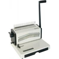 Quality 21 Holes Comb Book Paper A3 14.3mm Manual Desktop Binding Machine for sale