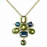 Quality Fashion Crystal Jewelry Necklace for sale
