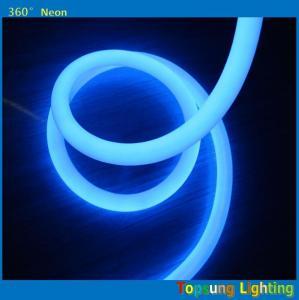 Best hot product 100leds/m blue 360degree round led neon flex light 220v 25m spool wholesale