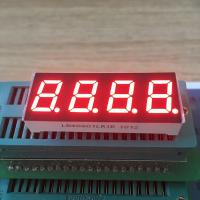 Buy cheap Super red 0.4 Inch 7 Segment LED Display Common Cathode For temperature from wholesalers