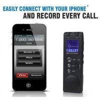 China bluetooth cell phone recorder, digital voice recorder with bluetooth, call recorder on sale