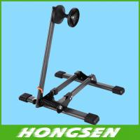 China Folding design easy to receive mountain bicycle storage rack on sale