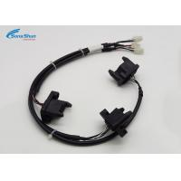 Buy cheap 20AWG Black Custom Wiring Harness , 12 Pin Connector Wire Harness Assembly from wholesalers