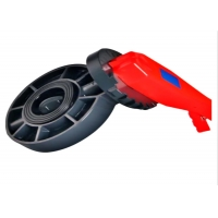 Quality IECEE A182 F316 Irrigation PVC Flanged Butterfly Valve / Butterfly Flange Valve for sale