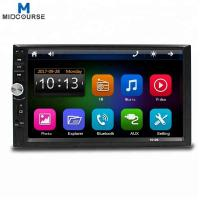 Quality Wholesale Universal 7 Inch 2 Din Touch Screen Bluetooth Car Stereo with New C200S Chip / Mirror Link /New UI /Fast Charg for sale