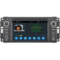 Quality Double Din Car Multimedia Navigation System Jeep Compass Radio 2009+ CE FCC Certification for sale