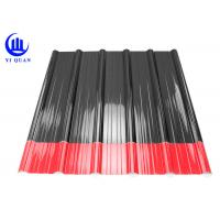 1130 Mm House Roof Insulation Pvc Roof Panels Corrugated OR Trapezoidal Wave Type