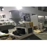 China Pvc Pipe Fittings Making Machine / Plastic Pipe Production Line Stable Extrusion on sale