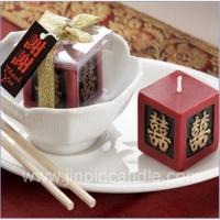 Buy cheap Double happiness candle from wholesalers