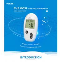 Quality Domestic Diabetes Blood Monitoring Devices No Coding With Accuracy Result for sale
