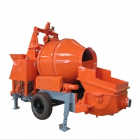Quality 10Mpa 75Kw 40m3/H Diesel Concrete Mixer With Pump for sale