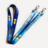 Best custom polyester woven lanyards wholesale
