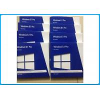 Quality Original Windows 8.1 Professional OEM Key , Win 8.1 Full Version Activated Globally for sale