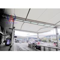 Quality Customized Tensioned Membrane Structures Carbon Steel Frame For Airport Access for sale