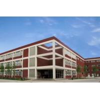 Quality Recyclable Workshop Steel Structure 5000㎡ Red Color Painting / Steel Frame Sheds for sale