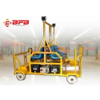 China Lithium Ion Battery Railway Track Inspection Trolley Heavy Duty on sale