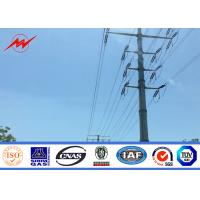 Best 35FT Direct Buried Galvanized Utility Steel Pole For Power Transmission SGS wholesale