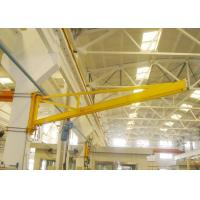 China Wall Mounted Slewing Jib Crane 360 Degree Rotation For Individual Workstations on sale