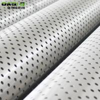 Quality Stainless Steel Schedule 40 Perforated Pipe for sale