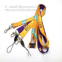 Best Tailored screen print polyester neck ribbon factory wholesaler in China wholesale