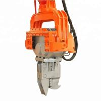 Quality Excavator Vibro Powerful Hydraulic Pile Hammer Machine With Long Durability for sale
