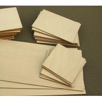Best wood pieces 200*250mm plywood laser cutting wood square pieces wholesale