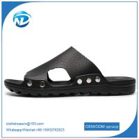 Quality Soft Leather Upper PVC Outsole Sandals For Men for sale