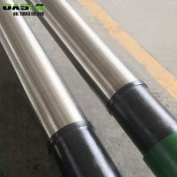 Quality High Filtering Accuracy Screen Pipe In Borehole , Water / Oil Well Drilling Wedge Wire Mesh for sale