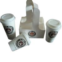 China Eco-friendly coffee cup carrier on sale