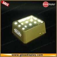 Quality Johnnie Walker Gold Label Reserve bottle glorifier led light base bottle display for sale
