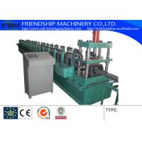 Best 1.0-2.0mm Thickness 4 - 6m/min Speed Shelf Rack Roll Former Machine with 15 Forming Station wholesale