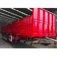 Quality Professional 4 Axles 60 Ton Side Wall Trailer For Bulk Cargo Transportation for sale
