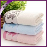 Quality high quality 100% cotton solid color terry hand towel for sale