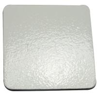 China DIY Square Custom Drink Coasters / Silver Personalized Drink Coasters on sale