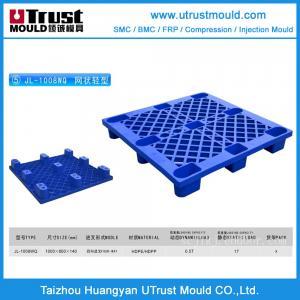 Best 1100x1100x140mm Single face 9 Legs-Ventilated HDPE Pallets mould wholesale