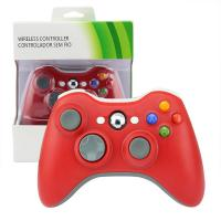 Quality Durable Red XBOX 360 Game Controller 9 Meter Wireless Range 3 Months Warranty for sale